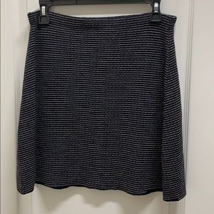 NWOT Theory Easy-waist Wool Skirt